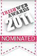 Nominated for the Irish Web Awards 2011